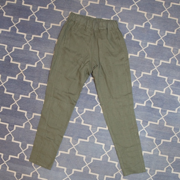 Linenfox Nova Tapered Linen Pants xs